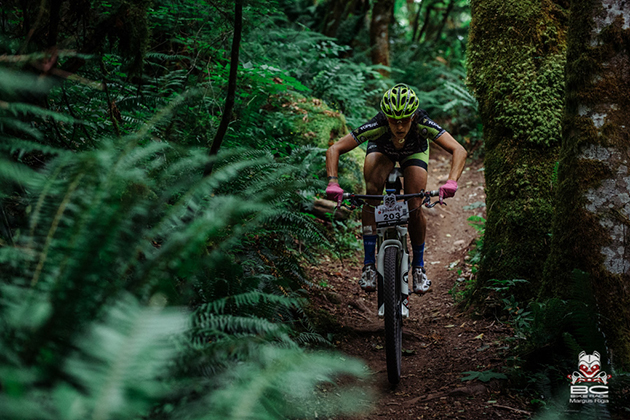Sonya Looney ripping and ripped. | Photo by Margus Riga