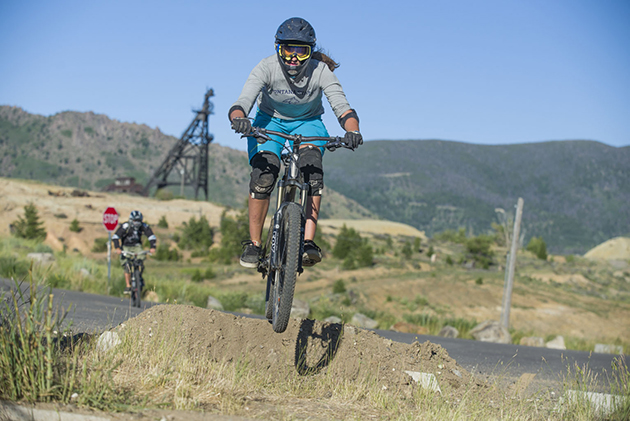 The course started in Walkerville, a small mining town above Uptown Butte. The 1.4-mile long course dropped 500 feet as it twisted its way through 140 years of mining history.