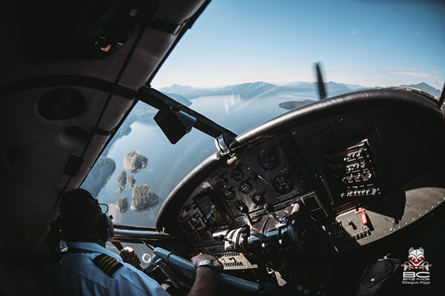 Harbour Air provides the planes and teaches about cornering. | Photo by Margus Riga