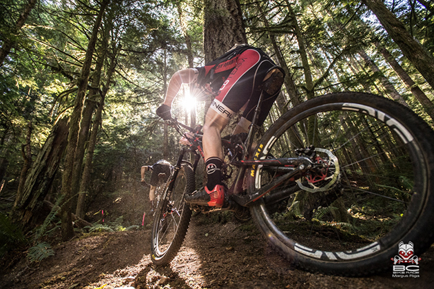 Singletrack climbing is a lost art but not here on the Sunshine Coast. | Photo by Margus Riga