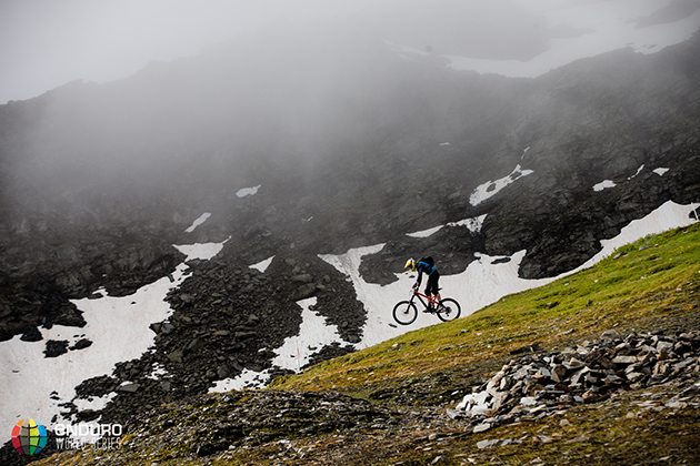 Gav Carroll on PS4. EWS 4 2014, La Thuile. Photo by Matt Wragg.