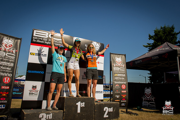Sonya Looney attacked early and brought home a stage win. | Photo by Erik Peterson