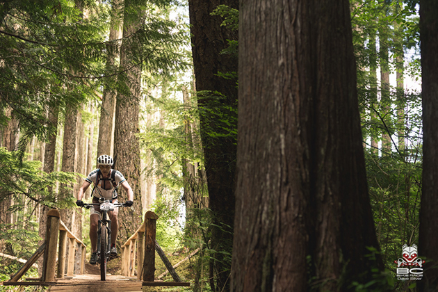 Hand-crafted features abounded, from bridges to trails to 'good time's!' | Photo by Dave Silver