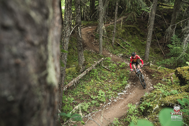 Sweet, buffed trails for days–this is mountain bike heaven.