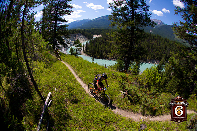 Riders wound along the banks of the Glacier-fed Kootenay River, through deep dark woods, and passed the resort area twice on the figure-eight loop course.