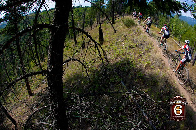 Riders were stoked on the amazing trail network in Radium, British Columbia. The Columbia Valley Mountain Bike Club has done an amazing job establishing the intricate trail system, which was evident as riders hooted and hollered throughout the forest.