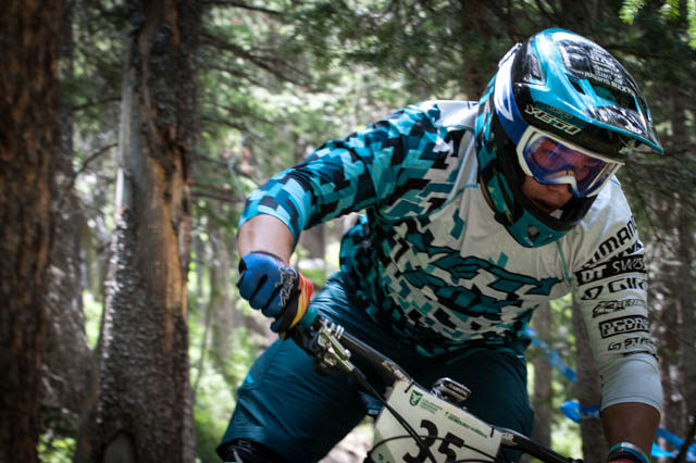 We'll just say this: Richie Rude can ride a mountain bike.