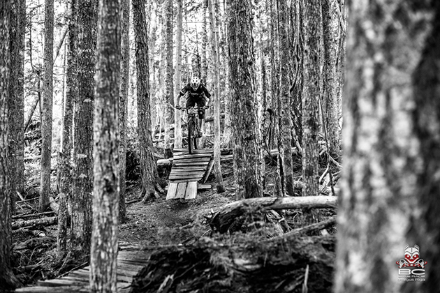 Look--more awesome trails. This time around in Cumberland--a great example of a small, rural town that's benefitting from a robust network of bike-legal trails.  Photo by Margus Riga