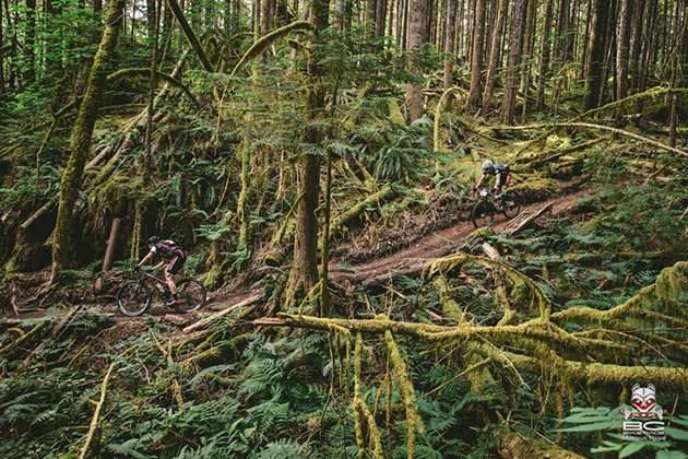 Are you sick of seeing awesome shots of people riding awesome trails in, oi, awesome British Columbia? Yeah, well, you have to hand it to the province, they've got the trails, but more than that--they have land managers who actually embrace mountain biking. The rest of the world is woefully behind on that score--particularly the United States. Photo by Margus Riga, courtesy of BC Bike Race