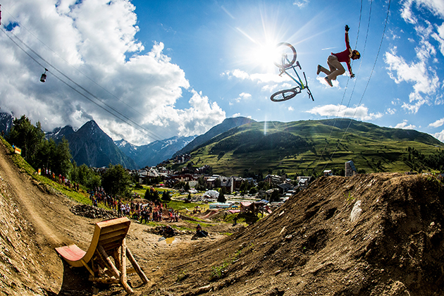 Not all take-offs have smooth landings. Photo: Sven Martin/Red Bull
