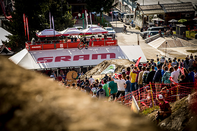 Anthony Messere on one of his winning runs. Photo: Sven Martin/Red Bull