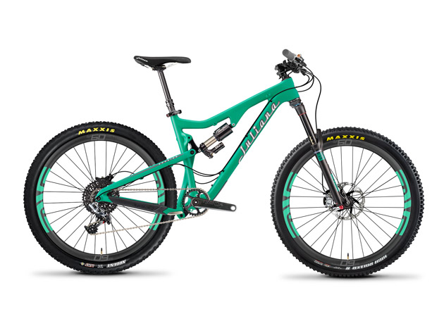 The new all-mountain Roubion decked out with SRAM XX1, Enve wheels and a Cane Creek DB Air headlines Juliana's 2015 line.