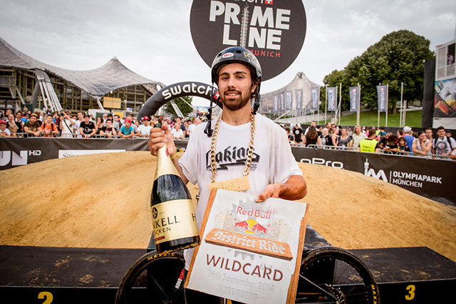 Louis Reboul wins Swatch Prime Line to receive last wild card for Red Bull District Ride. Photo by Christoph Laue