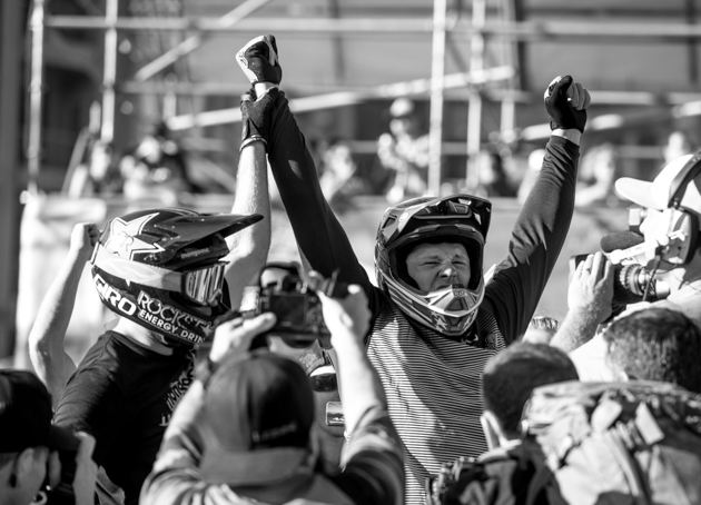 The 2014 Crankworx Speed and Style champion Kyle Strait adds another win to his long list of accomplishments.