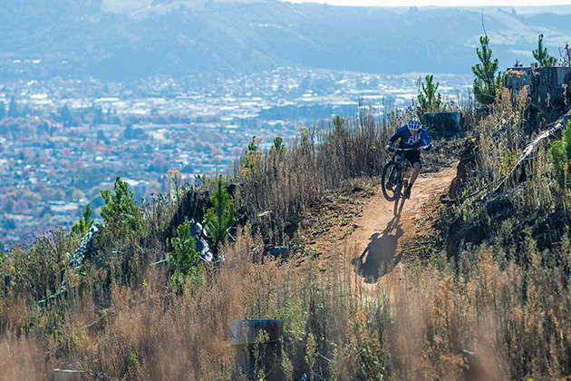 One of the more exciting new stops on the EWS circuit is Crankworx Rotoua in New Zealand.