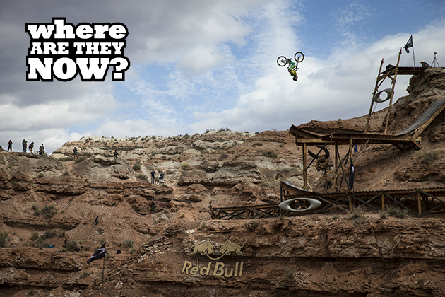 Cam Zink throws a backflip in the Red Bull Rampage 2013 finals. Photo by Christian Pondella/Red Bull Content Pool.