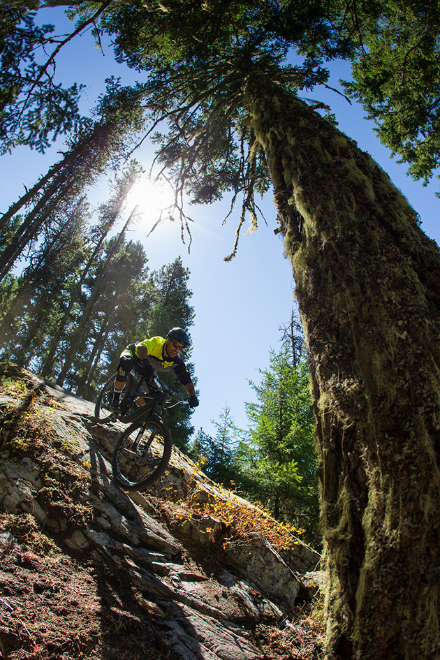 Silas Hesterberg, the man responsible for overseeing the Reign's new enduro incarnation, seemed at one with the bike on the steep rollers that punctuate the Pemberton hillsides.
