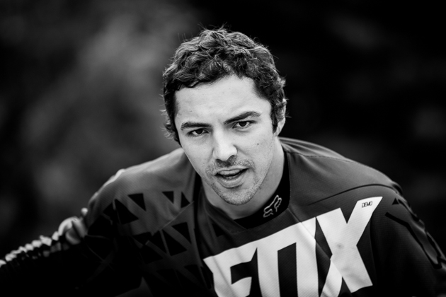 Colombian speed demon Marcelo Gutierrez-Villegas hoped to keep his momentum from last week's Crankworx Garbanzo DH victory going in the Dual Slalom race, but he only got as far as the Round of 16.