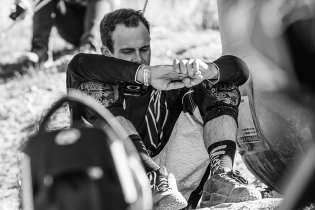 Defending Speed and Style champion from Crankworx Les 2 Alpes, Cam Zink, had his sights on a repeat victory. But today was not his day.