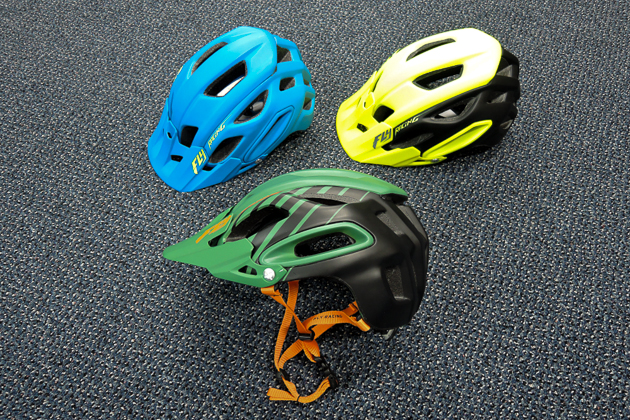 Fly Racing, popular in the motocross and BMX worlds, is making a concerted push in the mountain-biking market with a full line of apparel and protection gear, including this Freestone trail helmet.