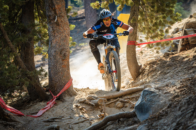 Lopes on last year's enduro course. Photo by Stikman.