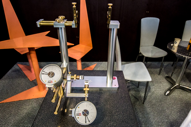 The P&K Lie Special 250 wheel truing stand is likely the most beautifully constructed and precise of its kind. For the most serious of wheel builders and tool snobs, this machine is built to absolute perfection. $2,250