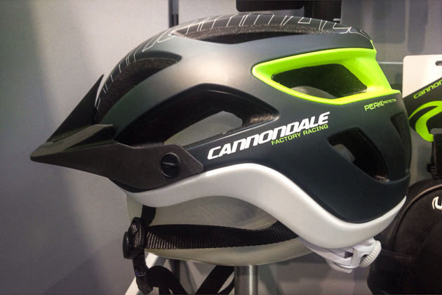 Cannondale's answer to the enduro-coverage helmet trend: the Ryker all-mountain lid. The 290-gram half-shell comes in three sizes and six colors and retails for $130.