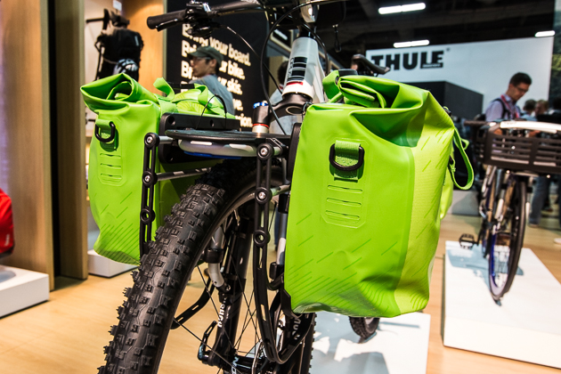 The Thule Pack 'n Pedal racks and bag systems will fit on nearly any bike, with or without suspension or rack eyelets, and are flexible enough to swap from bike to bike. If you commute regularly but want to head out for a multiday off-road adventure, the Thule Pack 'n Pedal line is worth checking out.