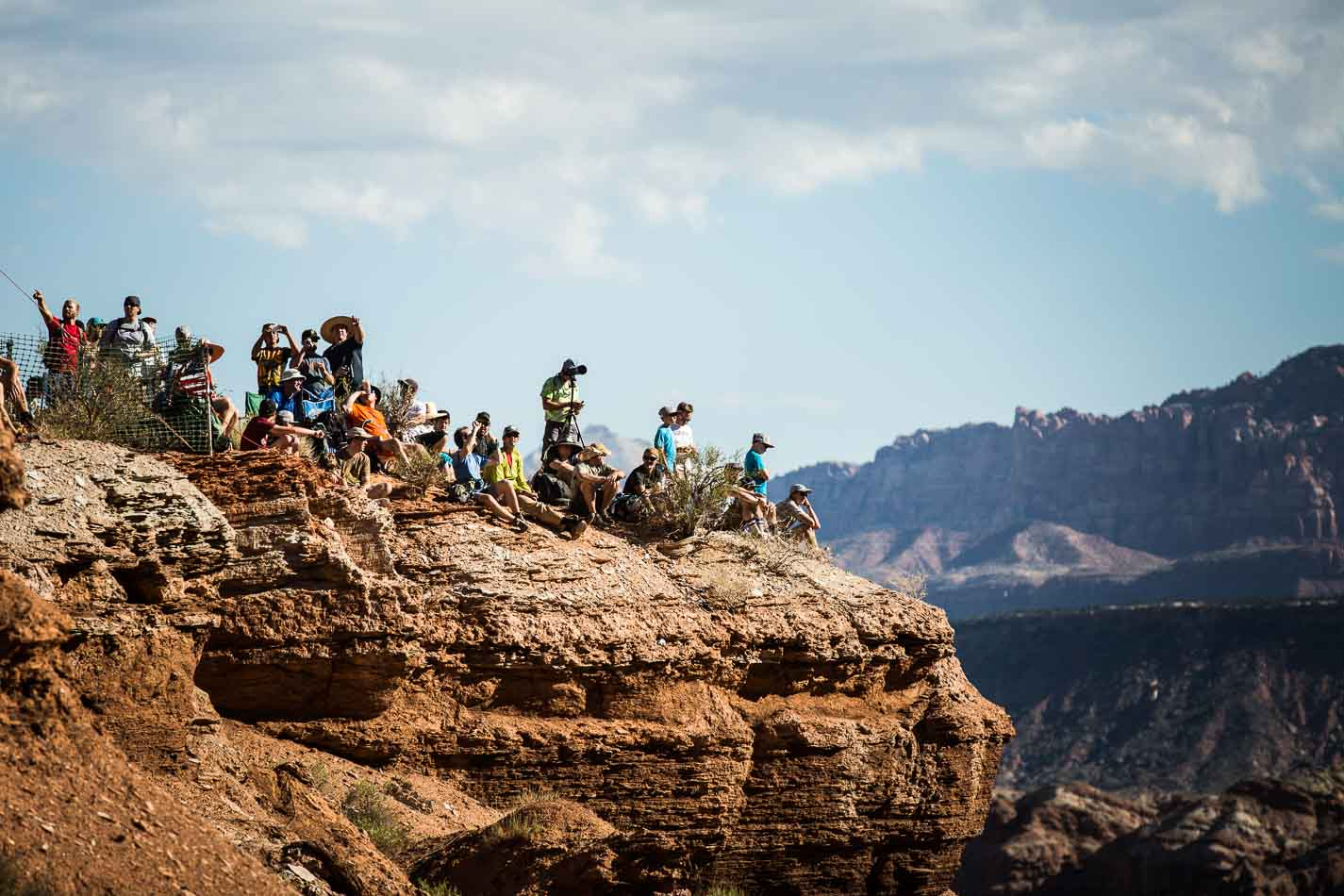"""The fans, on the other hand, didn't give two shits about the wind, and chanted, """"Rampage, Rampage"""" as they chugged their morning lagers and watched the world's sickest riders throw down their best in the world's gnarliest big-mountain contest."""