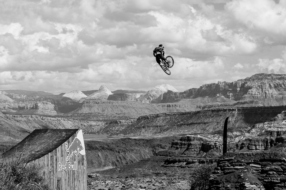 Louis Reboul made the massive canyon gap look like a mere floater at his local bike park. His relaxed poise left spectators wondering if he might have something much bigger up his sleeve for Monday's finals….