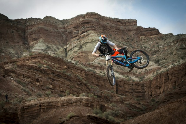 Style plays a huge role at Rampage. Fairclough reveals his whip in 2013.