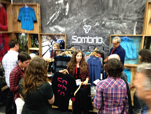 Plenty of people at the Interbike tradeshow seemed stoked to see Sombrio back.