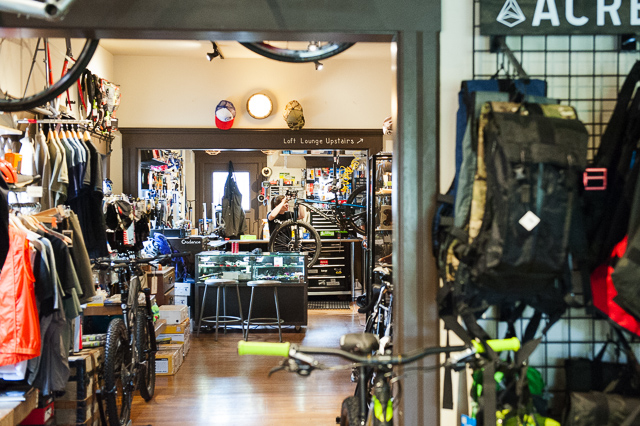 Crow's Feet Commons-so much more than just a bike shop. PHOTO: Keith Carlsen