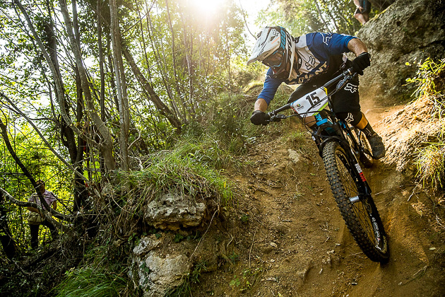 Yoann Barelli returns to Giant's Enduro World Series squad for his second season in 2015.
