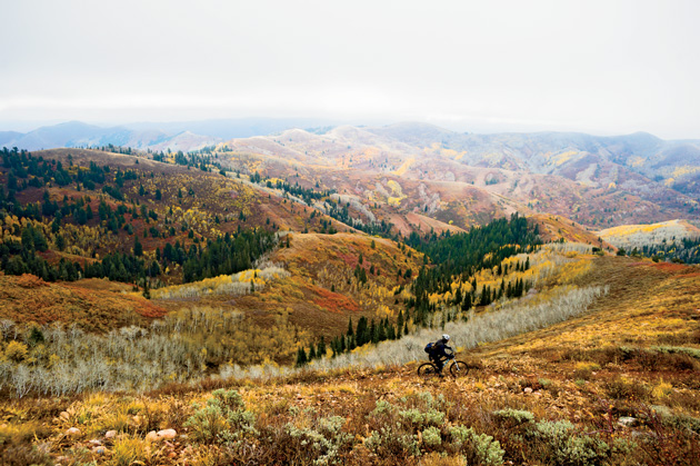 Something about a rugged, 50-mile circuit in Utah's Wasatch Range has secured one man's undying devotion to its hard-fought freedoms.