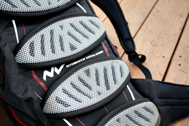 """They look weird, but CamelBak's articulating pods greatly reduce that """"My hydration pack is trying to kill me"""" sensation that you experience four hours into a ride."""