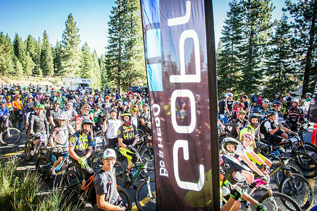 230 riders ready to tackle Northstar terrain. PHOTO: Called to Creation.