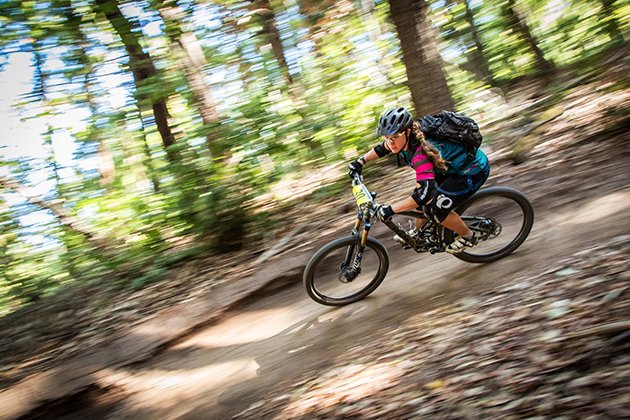 Monika Renk bumped things up a notch and raced pro for the series finale. PHOTO: Called to Creation.