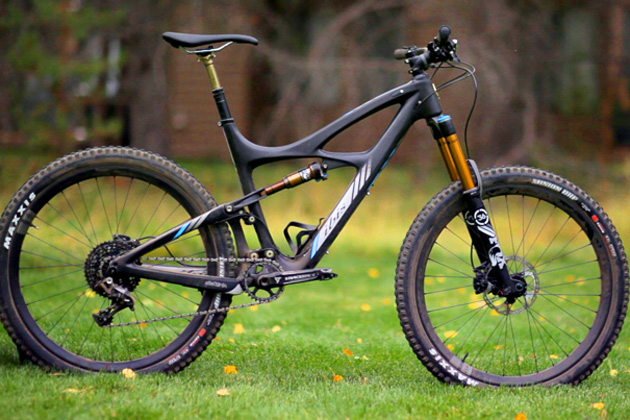 Here&#039;s our test bike, which we ran alongside the likes of the Yeti SB6C, the Specialized Enduro and the Giant Reign. How&#039;d it fare? Check out the 2015 <em><figcaption class=