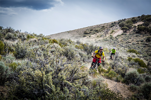 275 racers took on a classic high desert course featuring exposed, scrubby terrain and loose drifty dirt.