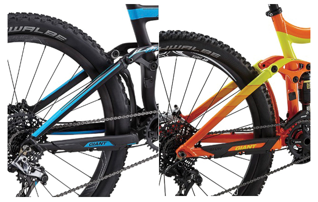 Giant Reign mud clearance