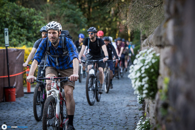 More than 300 riders showed up at River View on March 16th to protest the ban. Given the wet conditions, riders steered clear of the trails to prevent damaging them.
