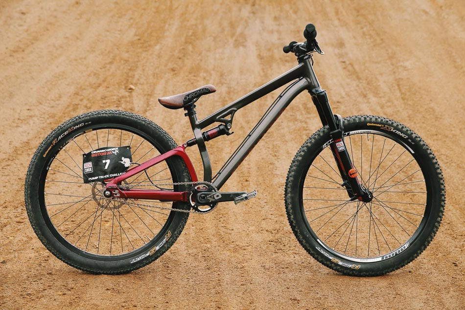 Martin Soderstrom's Specialized P.Slope.