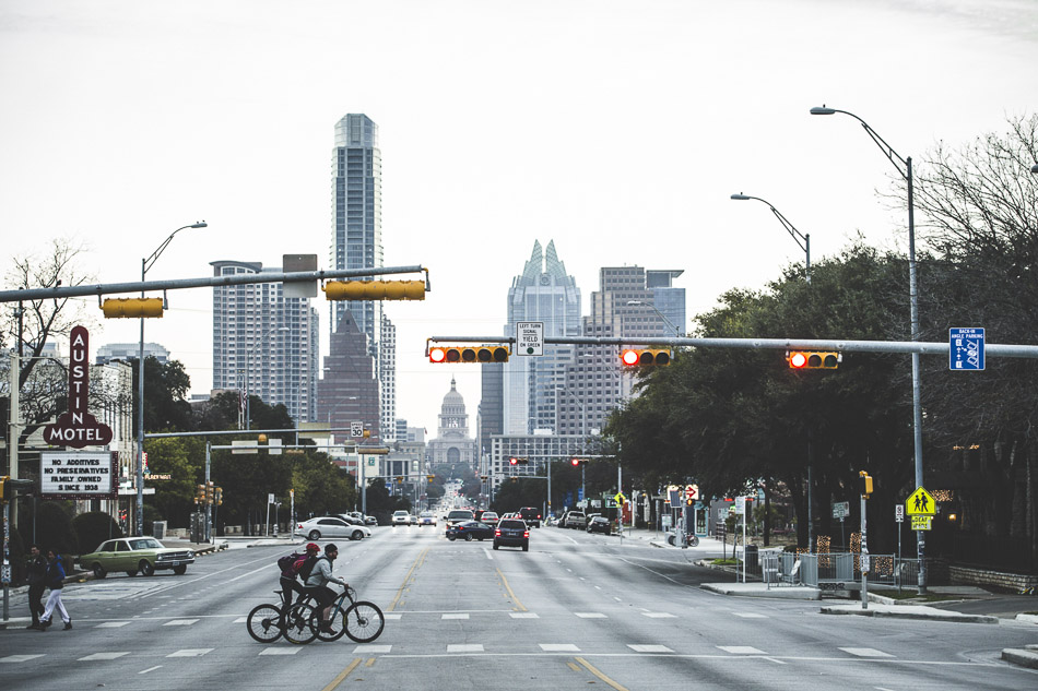 Austin, Texas is known for a lot of things: live music, barbeque, and the Longhorns. We found all those things, but we also found a cycling-rich town with a small, but quality trail network.