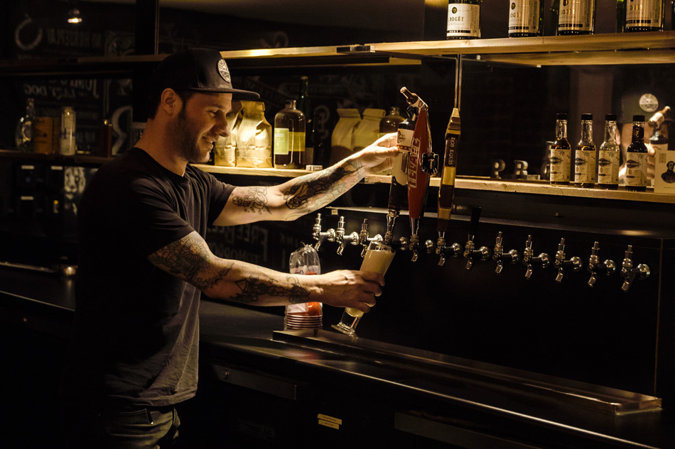 Not every place of business has its own beer tap. Evil employees are lucky like that.