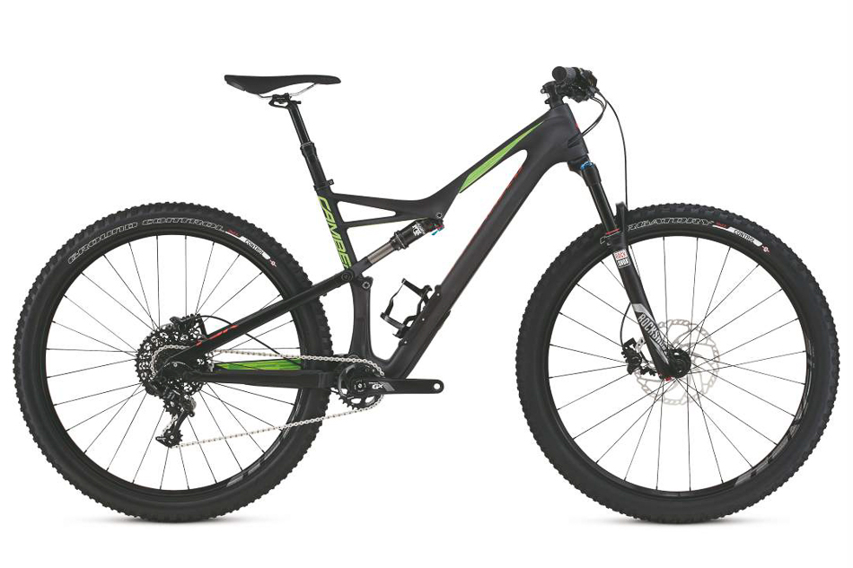 2016 Camber FSR Comp Carbon 29 - $3800. If you're a normal person with a budget, or you're not particularly into the Brian shock, the Comp Carbon is a fantastic option. SRAM GX brings 1x11 to a sub-4k price level.