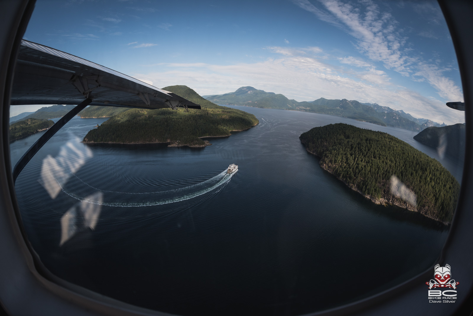 Some lucky few were forced to take to the skies on a Harbor Air seaplane. Photo: Dave Silver