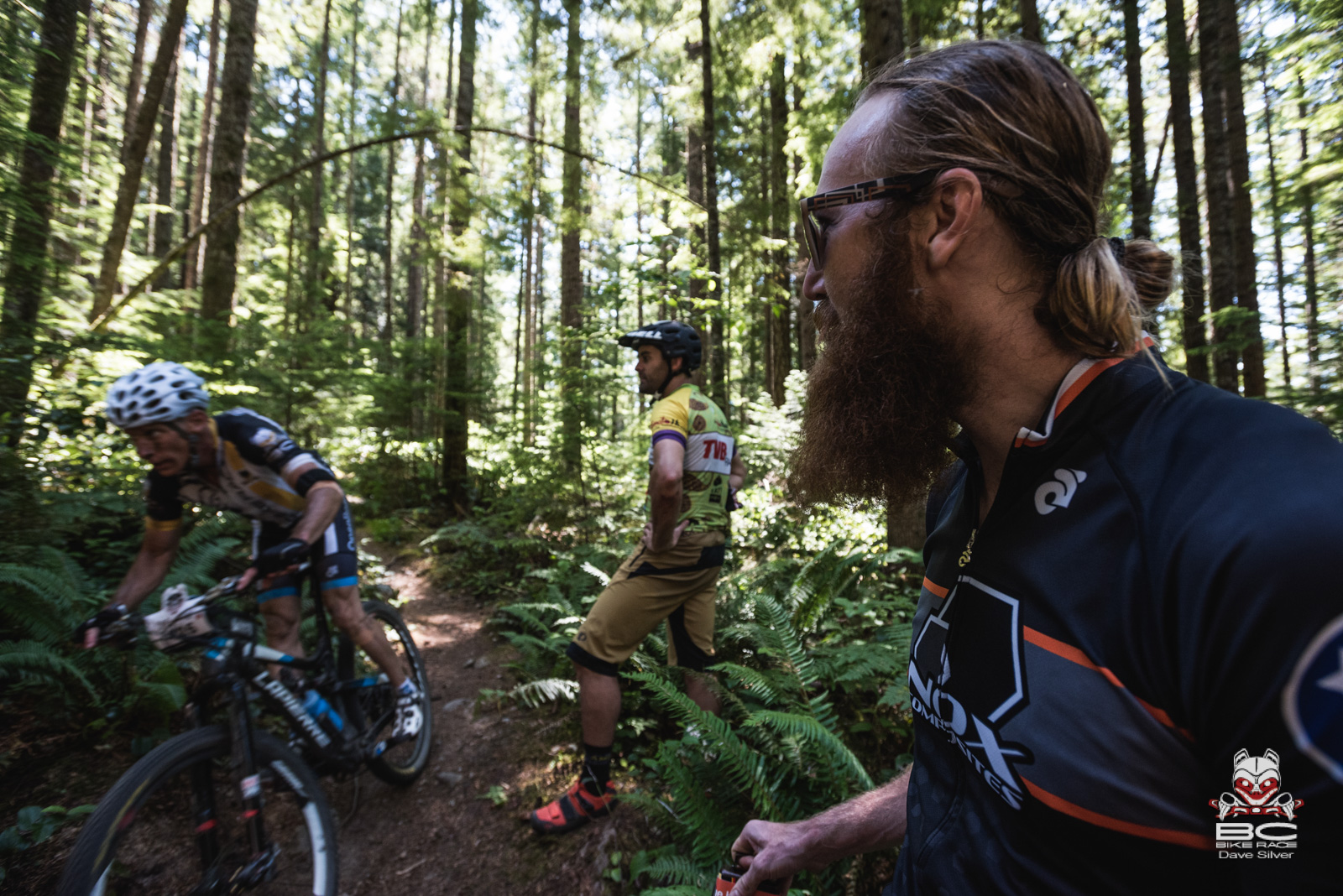 The Sechelt communitiy came out to cheer and heckle riders. Photo: Dave Silver