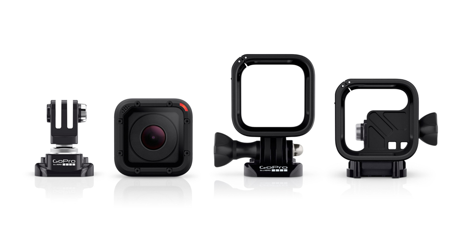 The HERO4 will ship with the ball joint mount buckle, as well as the standard and low-profile frame housings.