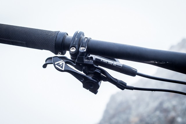 Specialized has one of the best designed  dropper post levers out there.